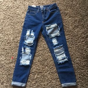 The Rockin Rev Boyfriend Jeans